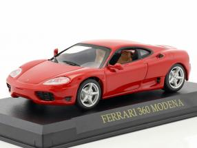 Ferrari 360 Modena Year 1999-2005 red 1:43 Altaya