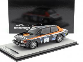 Saab 99 Turbo #5 Rally Costa Smeralda 1980 Blomqvist, Cederberg 1:18 Tecnomodel