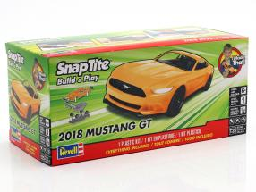 Ford Mustang GT year 2018 kit orange 1:25 Revell