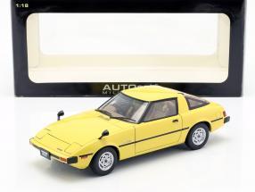 Mazda Savanna RX-7 (SA) GT-Limited year 1978 yellow 1:18 AUTOart