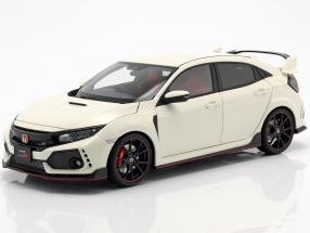 Honda Civic Type R (FK8) year 2017 white 1:18 AUTOart