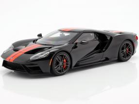 Ford GT year 2017 black / orange 1:18 AUTOart