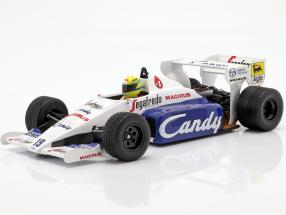 Ayrton Senna Toleman Hart TG184 #19 2nd monaco GP formula 1 1984 1:18 Minichamps