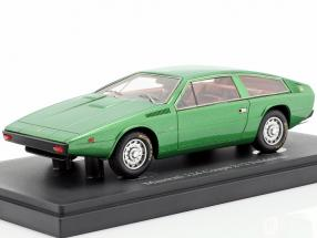 Maserati 124 Coupe 2+2 Italdesign year 1974 green 1:43 AutoCult
