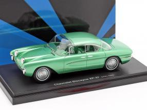 Chevrolet Biscayne XP-37 Baujahr 1955 grün 1:43 AutoCult