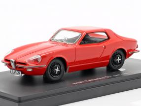 Saab Catherina GT year 1964 red 1:43 AutoCult