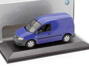 Volkswagen VW Caddy Year 2005 blue 1:43 Minichamps