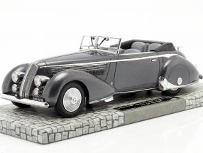 Lancia Astura Tipo 233 Corto Year 1936 gray metallic 1:18 Minichamps