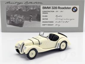 BMW 328 Roadster Year 1936-1940 beige 1:18 Minichamps