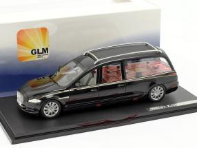 Jaguar Wilcox X351 Hearse Year 2013 black 1:43 GLM