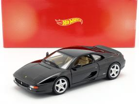 Ferrari F355 Berlinetta Year of construction 1994 black 1:18 HotWheels