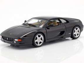 Ferrari F355 Berlinetta Year of construction 1994 black 1:18 HotWheels