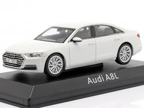 Audi A8L white 1:43 iScale