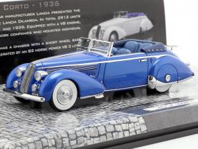 Lancia Astura Tipo 233 Corto Year 1936 blue 1:43 Minichamps