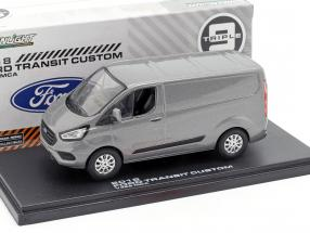 Ford Transit Custom V362 MCA year 2018 grey metallic 1:43 Greenlight