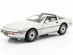 Chevrolet Corvette C4 year 1984 silver metallic