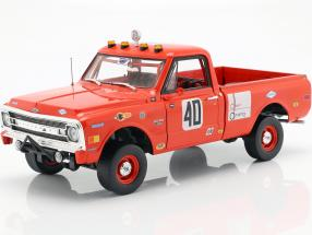 Chevrolet C10 Baja 1000 Pick-Up Truck year 1969 red 1:18 Greenlight