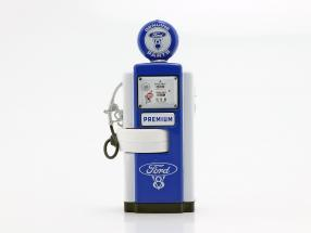 Gas Pump Ford Genuine Parts blue / White