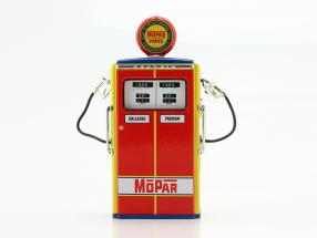 Gas Pump Mopar Parts red / yellow / blue