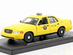 Ford Crown Victoria taxi year 2008 Movie John Wick 2 (2017) yellow