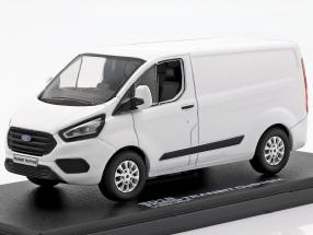 Ford Transit Custom V362 MCA year 2018 qwhite 1:43 Greenlight