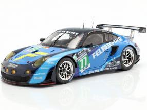 Porsche 911 (997) GT3 RSR #77 24h LeMans 2012 Lieb, Lietz, Henzler 1:18 Spark