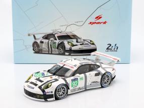 Porsche 911 (991) RSR #92 3rd LM GTE Pro 24h LeMans 2014 1:18 Spark