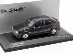 Opel Kadett E 1989 black metallic 1:43 Minichamps