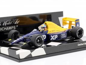 J. Alesi Tyrrell Ford 018 #4 French GP Formula 1 1989 1:43 Minichamps
