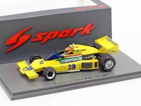 Ingo Hoffmann Copersucar FD04 #29 Brazil GP formula 1 1977 1:43 Spark