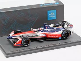 Felix Rosenqvist Mahindra M4Electro #19 Winner HongKong formula E 2017/18 1:43 Spark