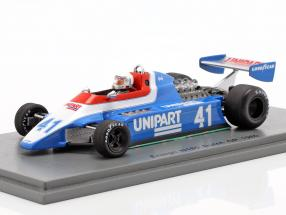 Geoff Lees Ensign N180 #41 Dutch GP formula 1 1980 1:43 Spark