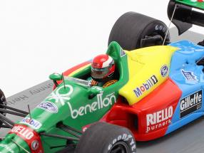 Johnny Herbert Benetton B188 #20 4th Brazil GP formula 1989