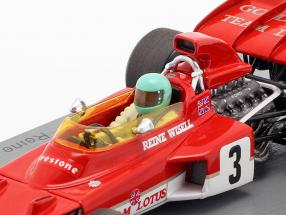 Reine Wisell Lotus 72D #3 5th Canadian GP formula 1 1971