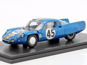 Alpine A210 #45 24h LeMans 1966 G. Verrier, R. Bouharde