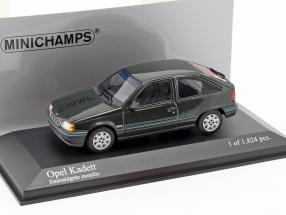 Opel Cadet Year 1989 emerald green metallic 1:43 Minichamps
