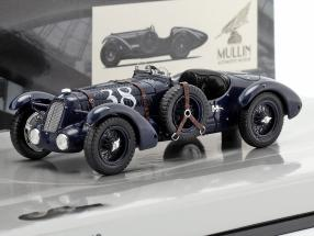 Talbot Lago T26-SS #38 Grand Prix Year 1936 dark blue 1:43 Minichamps