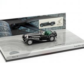 Bugatti Type 54 Roadster Baujahr 1931 schwarz 1:43 Minichamps