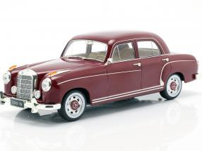 Mercedes-Benz 220 S limousine (W180II) year 1956 dark red 1:18 KK-Scale