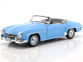 Mercedes-Benz 190 SL year 1955 blue 1:18 Norev