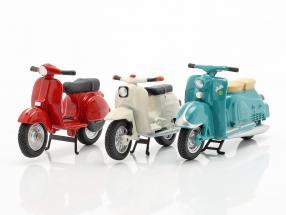 Set 3x Scooters: Zündapp Bella, Simson Schwalbe KR51, Vespa PX 1:43 Schuco