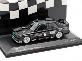 BMW M3 (E30) #6 DTM 1987 Team Vogelsang H. Grohs 1:43 Minichamps