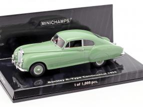 Bentley R-Type Continental Year 1955 green 1:43 Minichamps