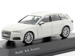 Audi A4 Avant glacier white 1:43 Spark