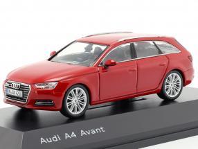 Audi A4 Avant tango red 1:43 Spark