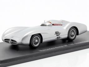 Mercedes-Benz W 196 Stromlinie silver 1:43 Spark