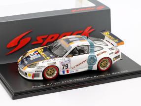 Porsche 911 (996) GT3-RS #79 24h LeMans 2000 Perrier, Ricci, Ricci 1:43 Spark