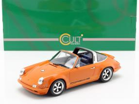 Porsche 911 (964) Targa Singer year 1990 orange 1:18 Cult Scale