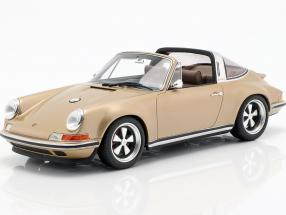 Porsche 911 (964) Targa Singer year 1990 gold 1:18 Cult Scale
