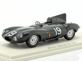 Jaguar D #19 Winner 12h Sebring 1955 Hawthorn, Walters 1:43 Spark